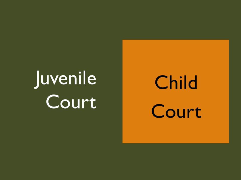Child Court Juvenile Court