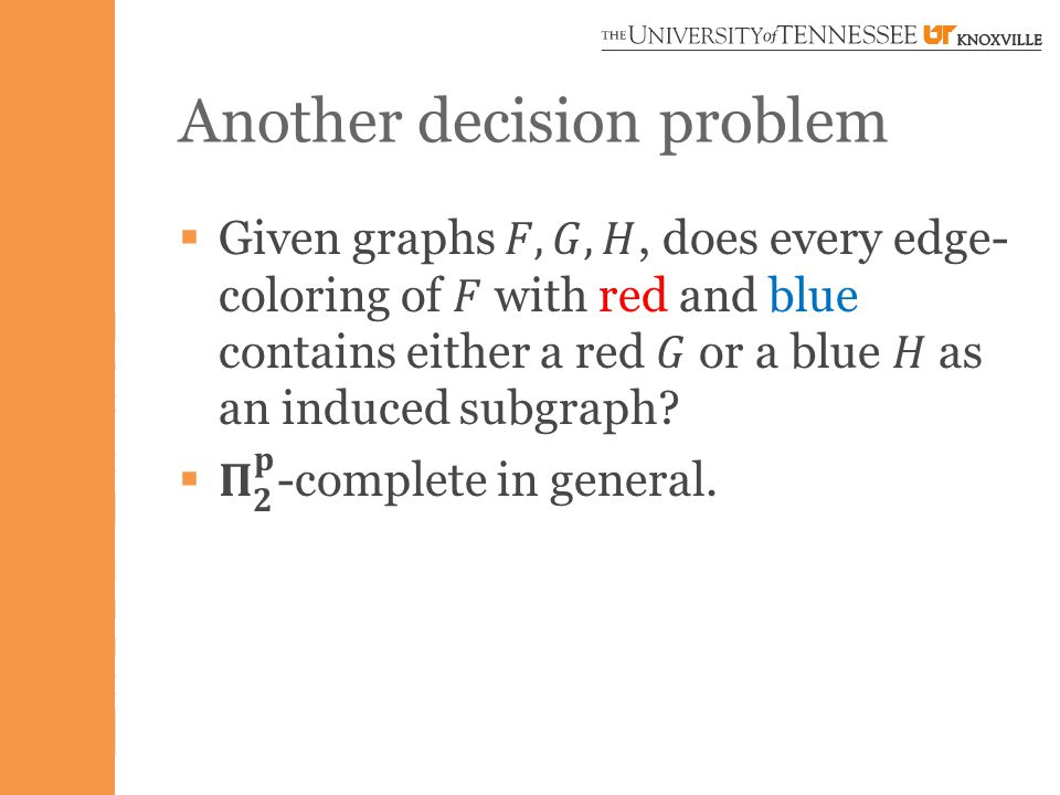 Another decision problem