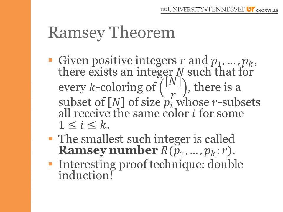 Ramsey Theorem