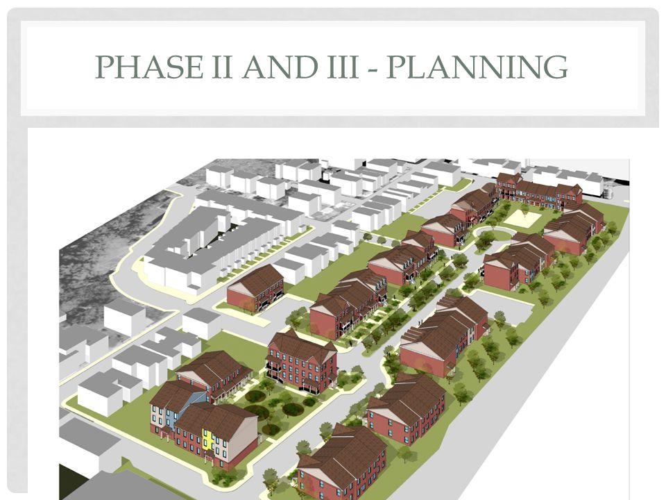 PHASE II AND III - PLANNING