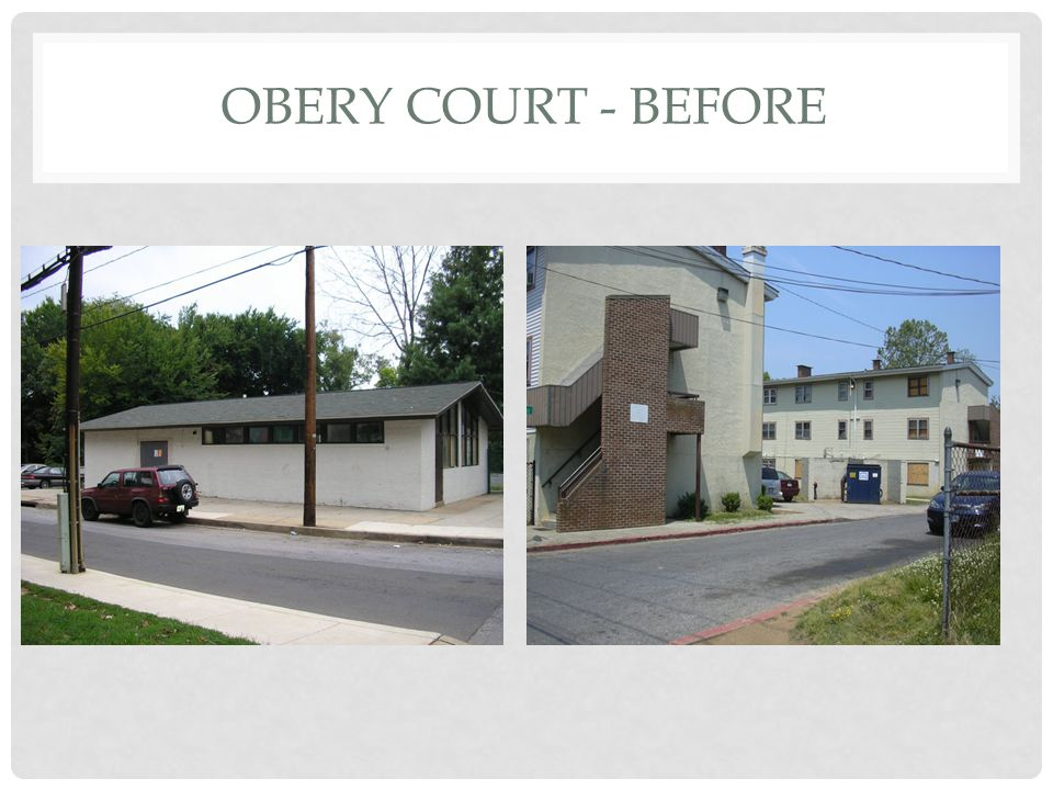 OBERY COURT – PHASE I (AFTER)