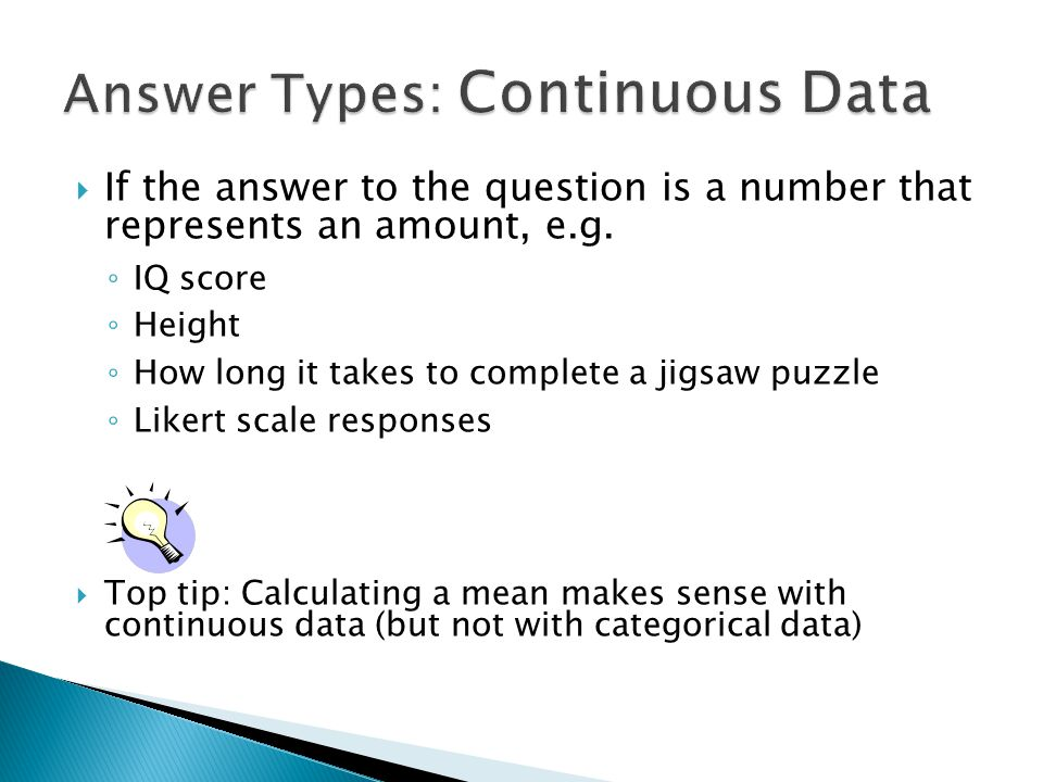  If the answer to the question is a number that represents an amount, e.g.