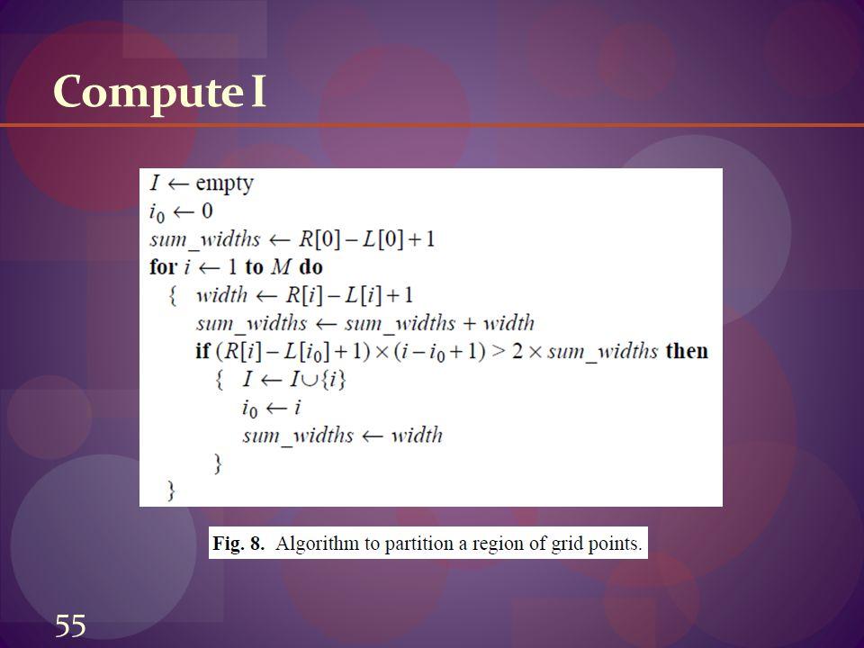 Compute I 55