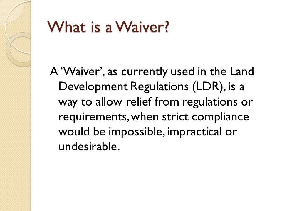 Clarify the Regulations: