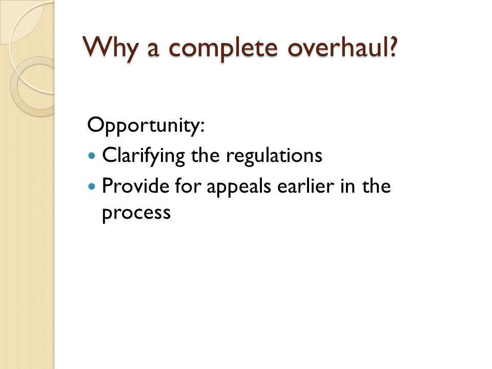 Public comments: The proposed process for obtaining approval of an alternative standard seems to be thorough and reasonable, with plenty of opportunity for a timely appeal of an approval if there is some objection.