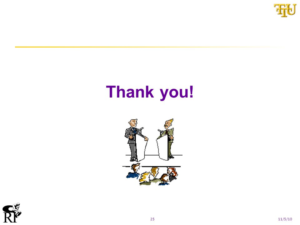 Thank you! 2511/5/10