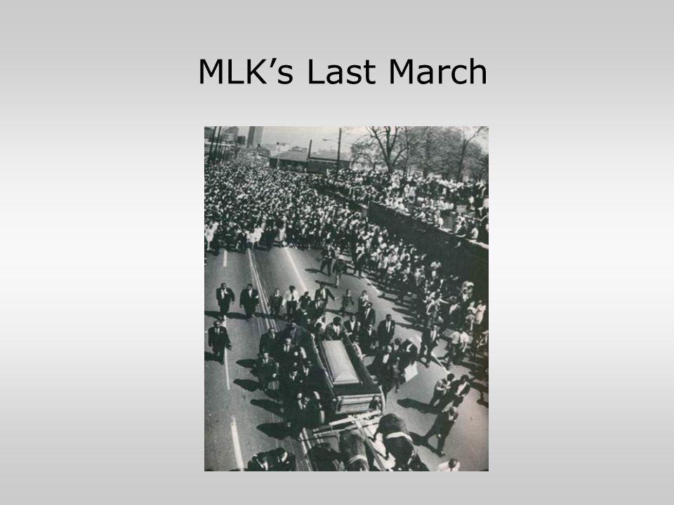 MLK's Last March