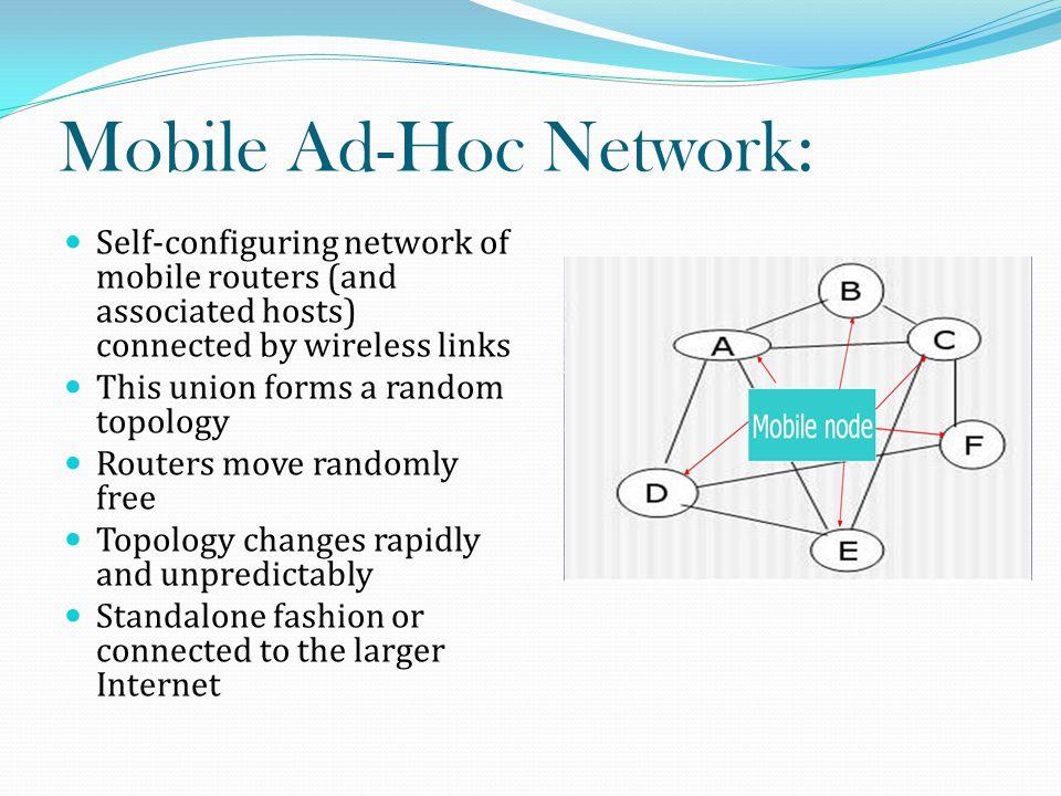 Ad-Hoc Network vs.