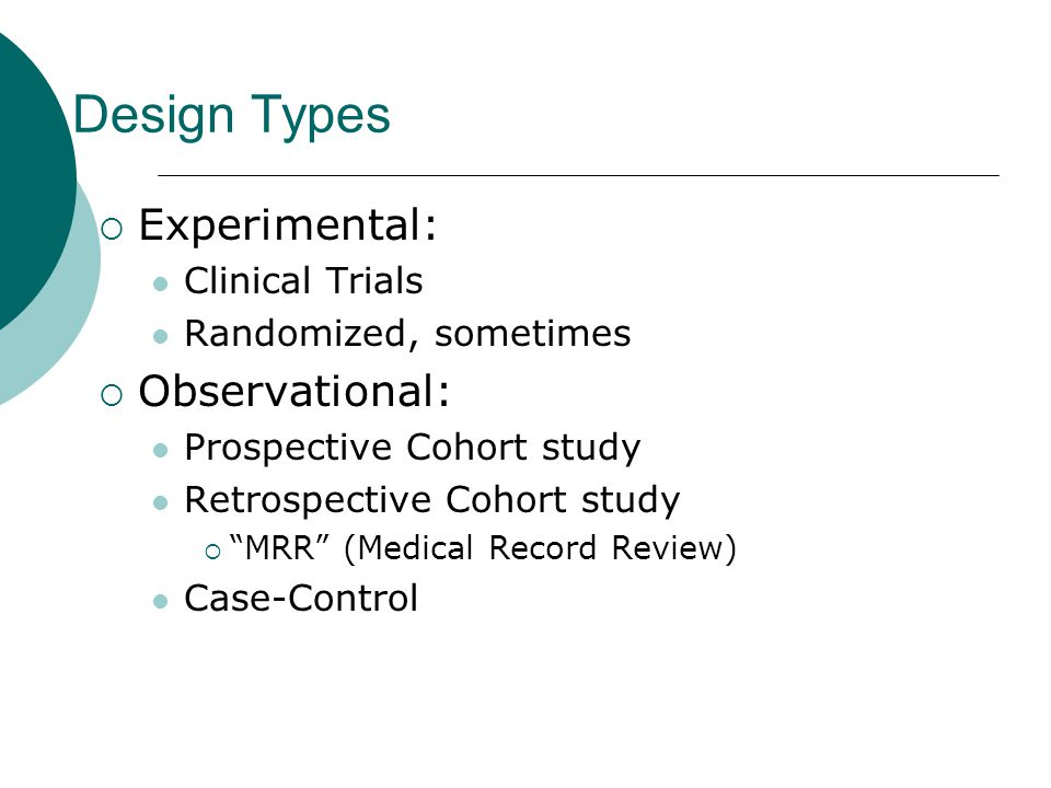 Risk in Cohort Studies  Relative Risk (RR):