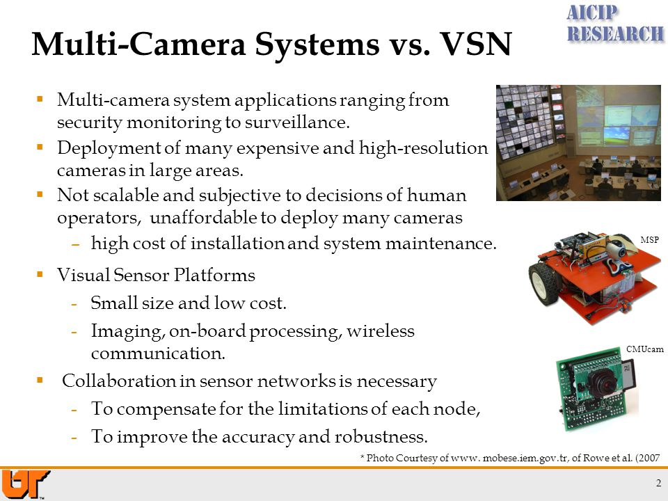 Multi-Camera Systems vs.