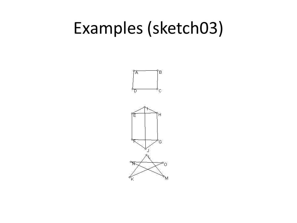 Examples (sketch03)