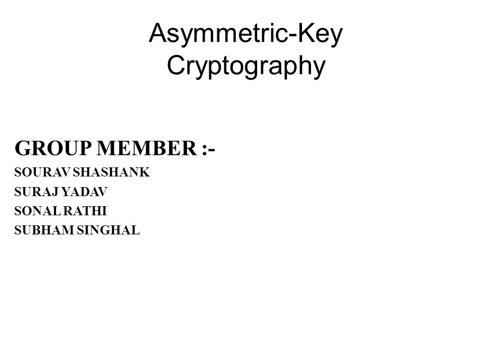 Key generation, encryption, and decryption in ElGamal C2