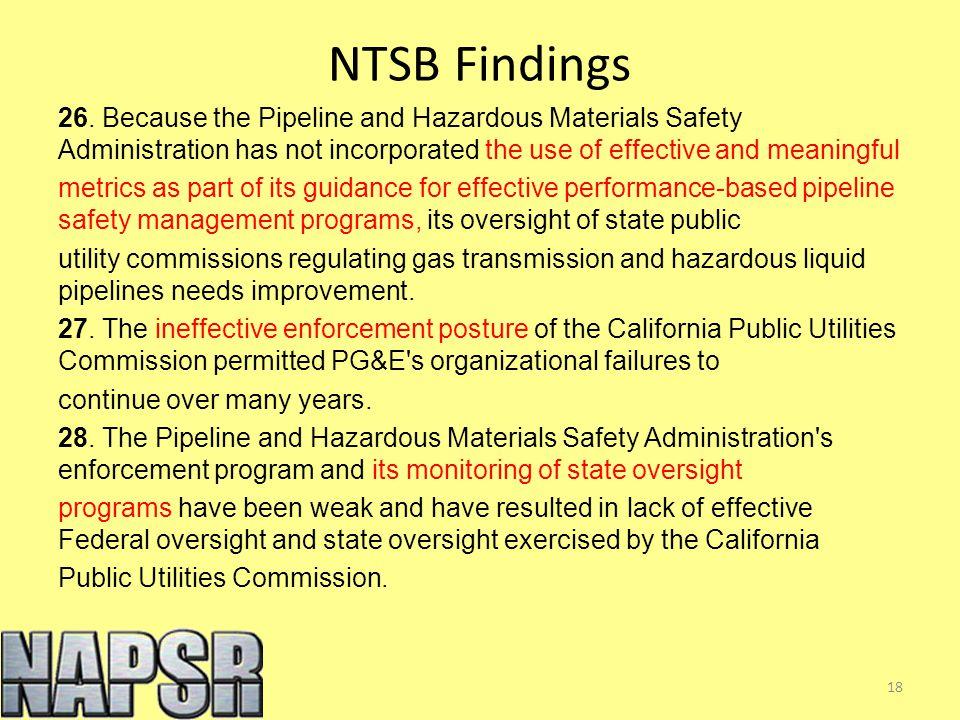 NTSB Findings 26.
