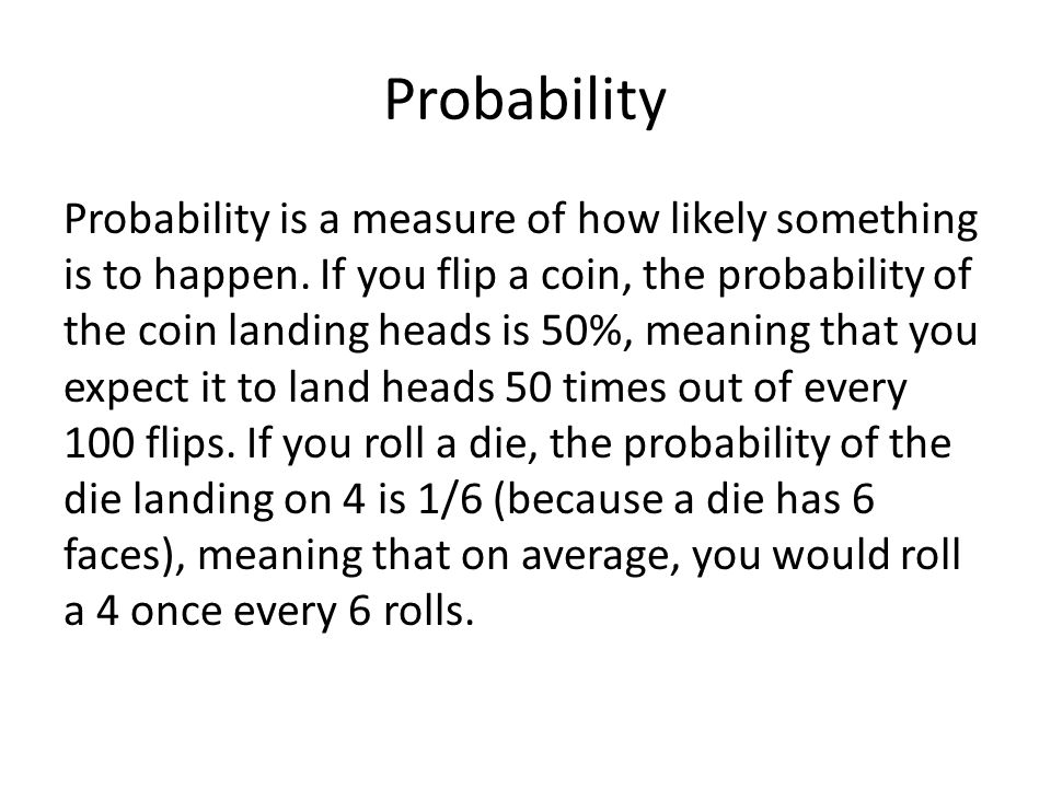 Conditional Probability Sometimes the probability of an event is increased or decreased by other events.