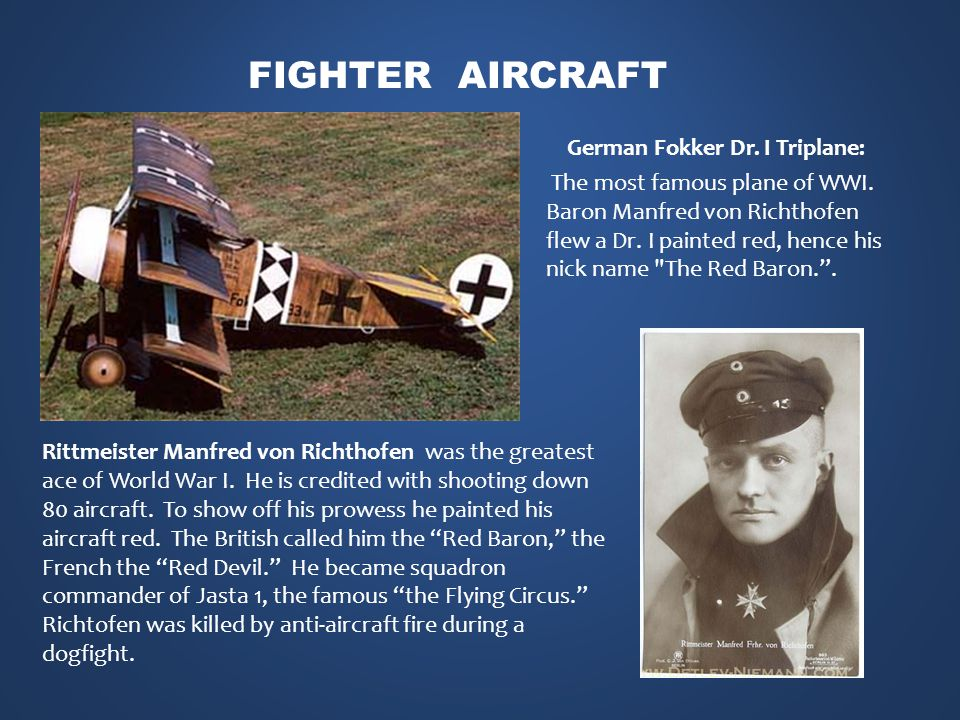 Rittmeister Manfred von Richthofen was the greatest ace of World War I.