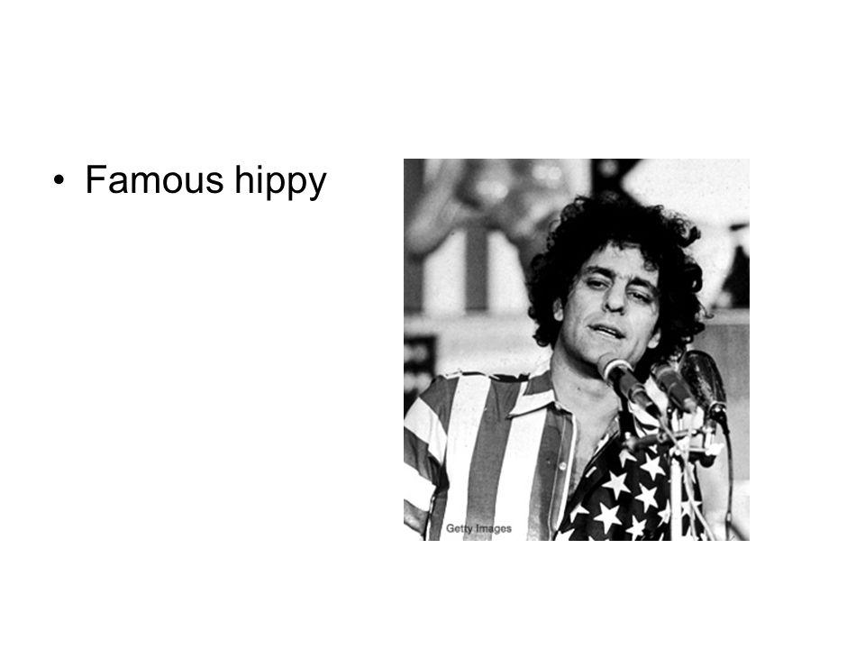 Famous hippy