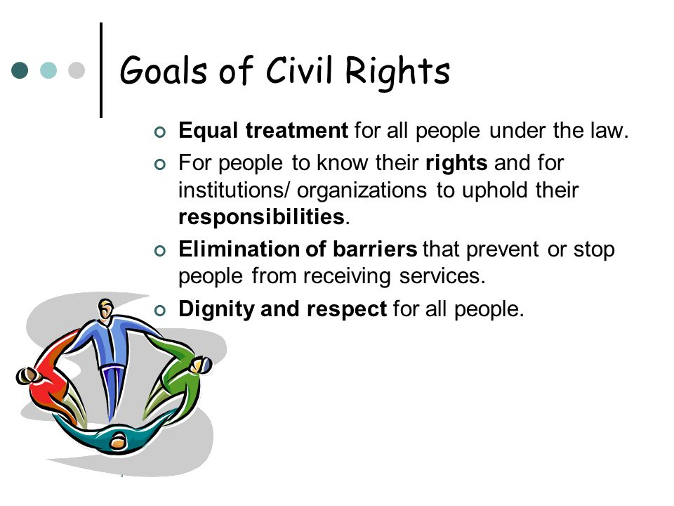 8 Types of Discrimination Unequal Treatment Being treated differently because individual belongs to a certain group.
