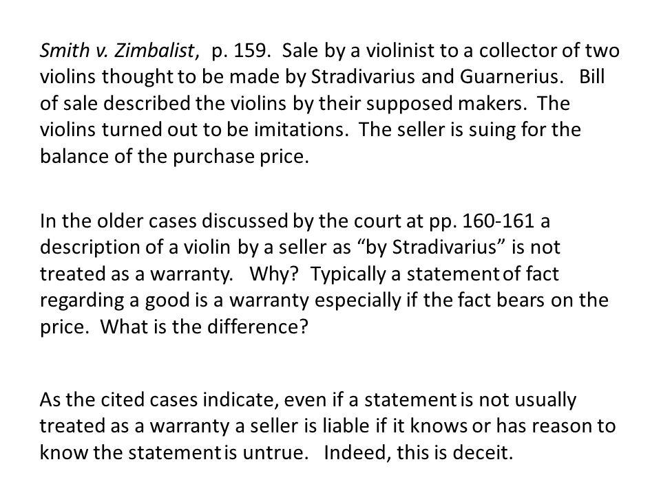 Smith v. Zimbalist, p. 159.