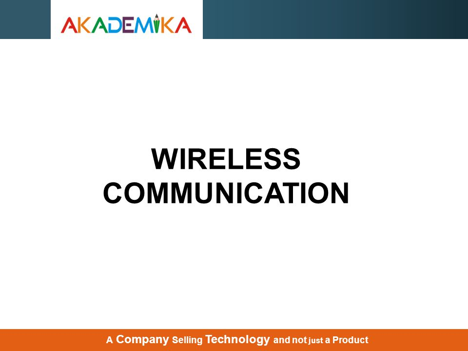 What is Wireless Communication .