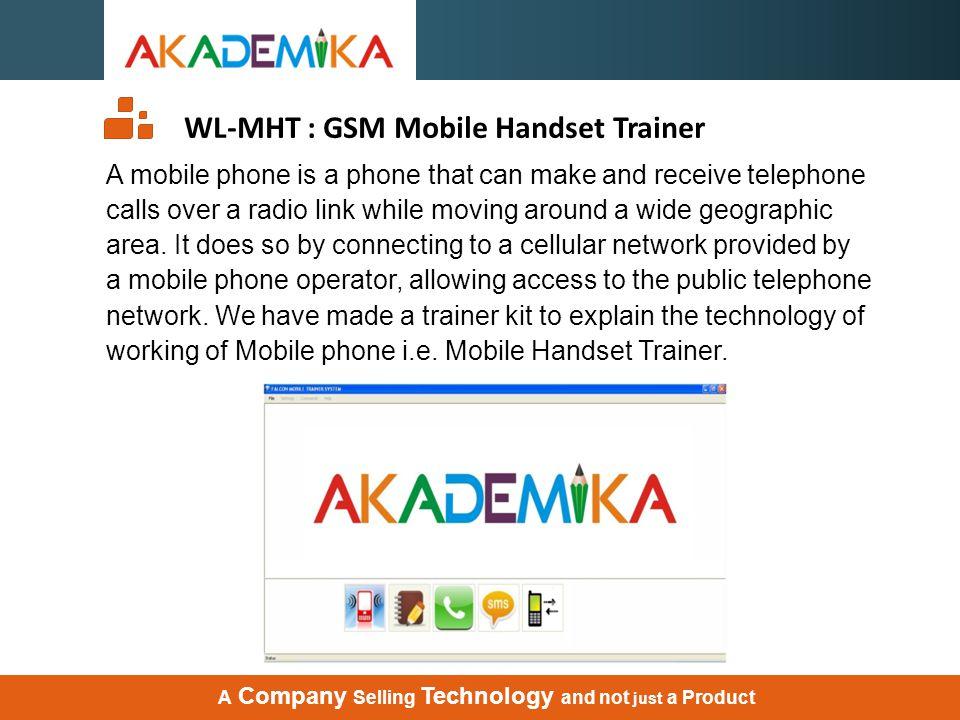 WL-MHT : GPS Mobile Handset Trainer