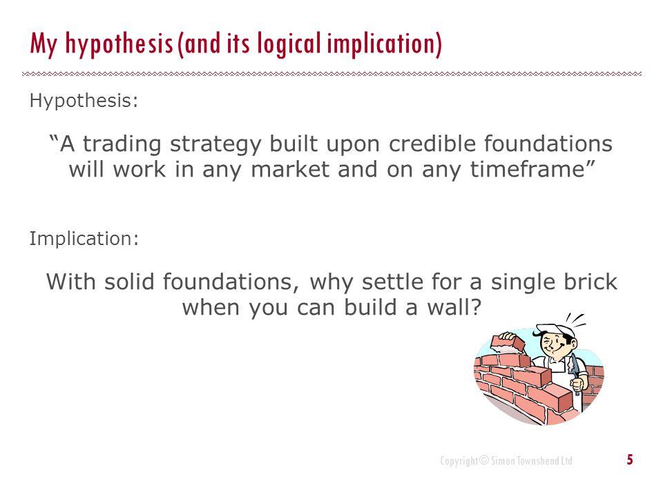 Copyright © Simon Townshend Ltd What factors should influence the decision process.