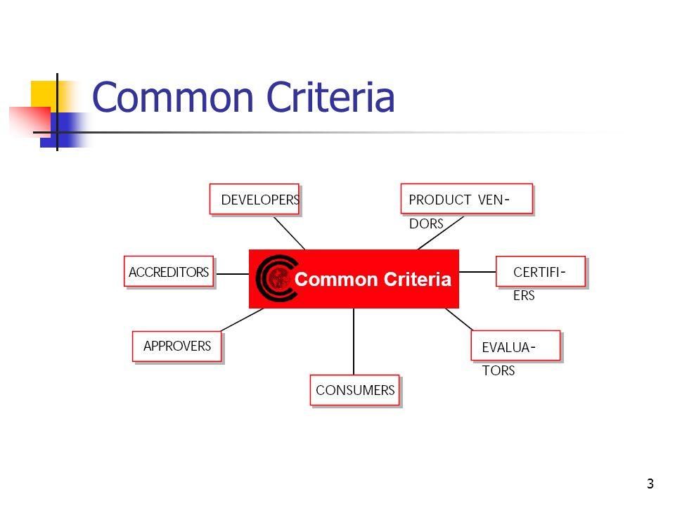 3 Common Criteria
