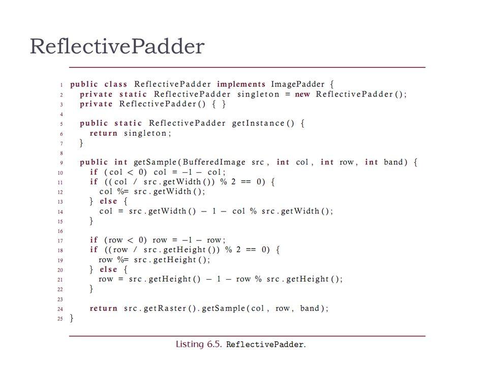 ReflectivePadder