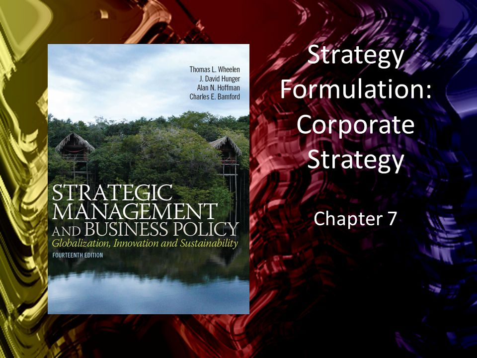 Learning Objectives  Understand the three aspects of corporate strategy  Apply the directional strategies of growth, stability and retrenchment  Understand the differences between vertical and horizontal growth as well as concentric and conglomerate diversification  Identify strategic options to enter a foreign country  Apply portfolio analysis to guide decisions in companies with multiple products and businesses  Develop a parenting strategy for a multiple-business corporation Copyright © 2015 Pearson Education, Inc.