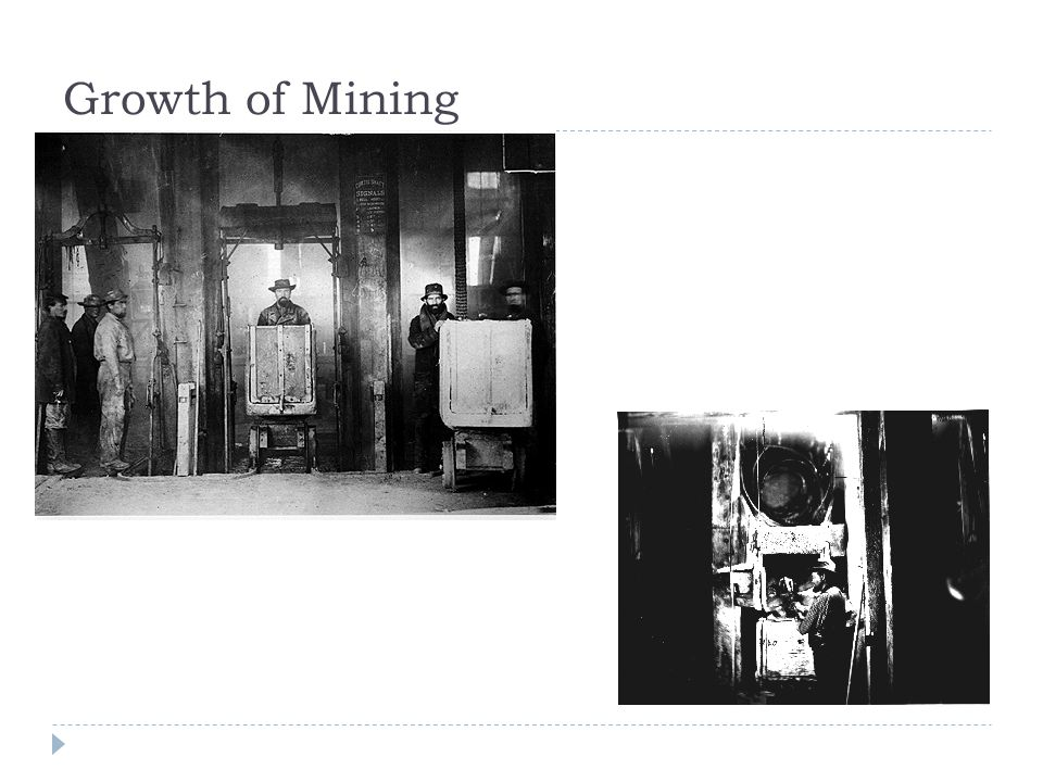 Growth of Mining