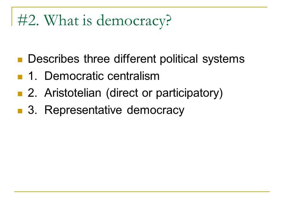 Political Efficacy- The capacity to understand and influence political events