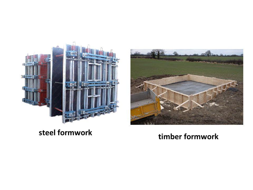 steel formwork timber formwork