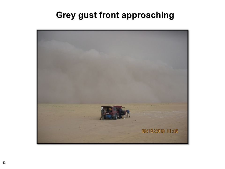 43 Grey gust front approaching