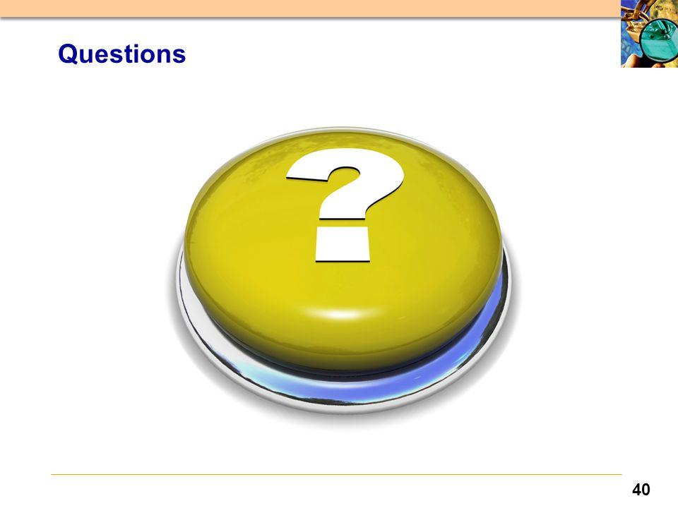 40 Questions