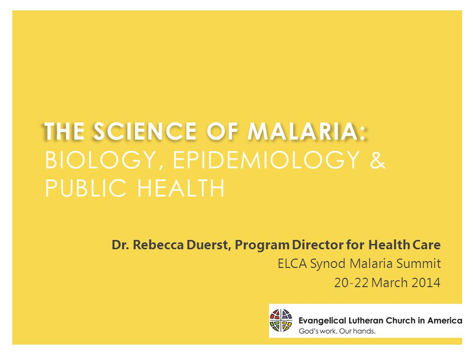  True or False on malaria biology, epidemiology, and public health  Scientific advances in malaria work  Time for Q&A