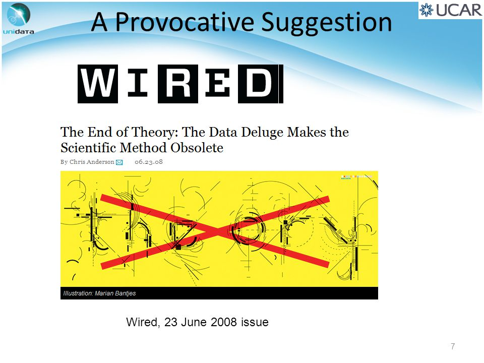 A Provocative Suggestion Wired, 23 June 2008 issue 7