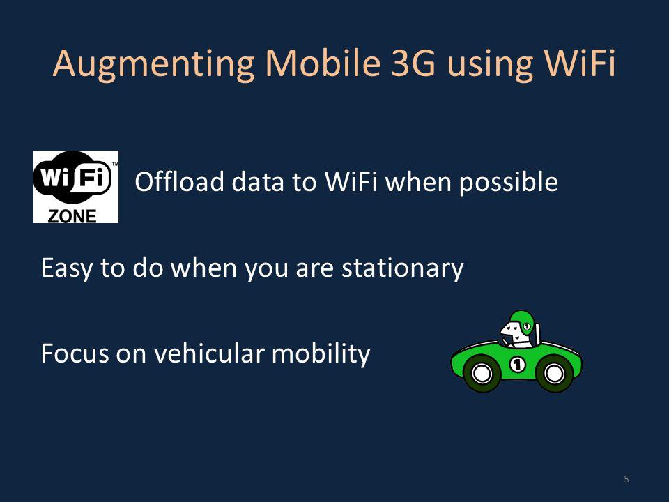 Offloading 3G data to WiFi 6 Wiffler
