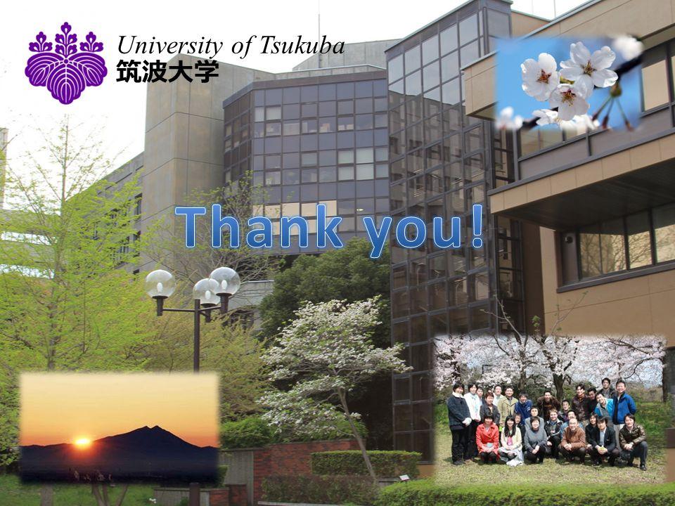 University of Tsukuba 筑波大学