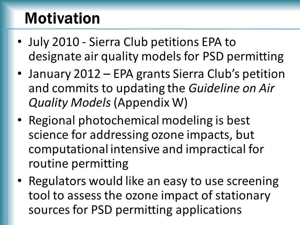 Methodology FE Model R R Model Fit P 1 … P 11 Model Fit P 1 … P 11 HDDM Ozone Sensitivities PT01 E NOx, E VOC, x, y, SH HDDM Ozone Sensitivities PT20 HDDM Ozone Sensitivities PTXX E NOx, E VOC FE Ozone Impact 2 nd Order Taylor Series HDDM Ozone Impact FE Approach HDDM Approach FE Ozone Sensitivities Screening Tool