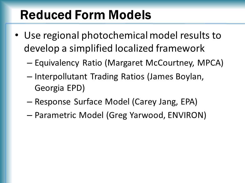 Sensitivities from CAMx HDDM vs. FE CAMx HDDM FE Model