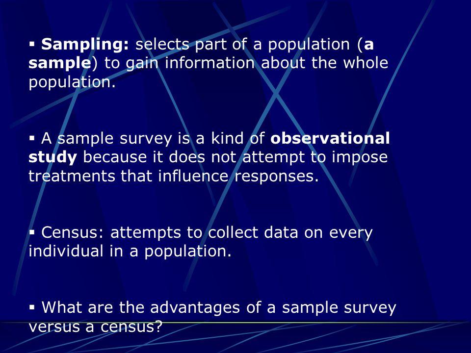 Descriptive vs.Inferential Statistics  Descriptive statistics: summarizes the data.