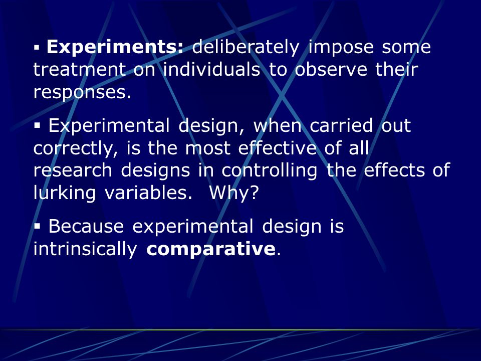 Bias  Bias means that a measurement systematically underestimates or overestimates a parameter.