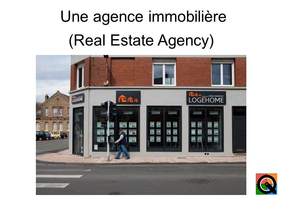 Une succursale (A branch of a company)