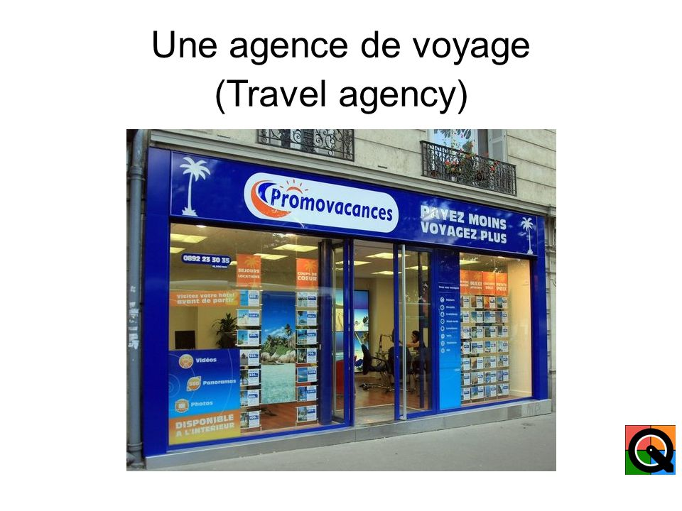 Une agence immobilière (Real Estate Agency)