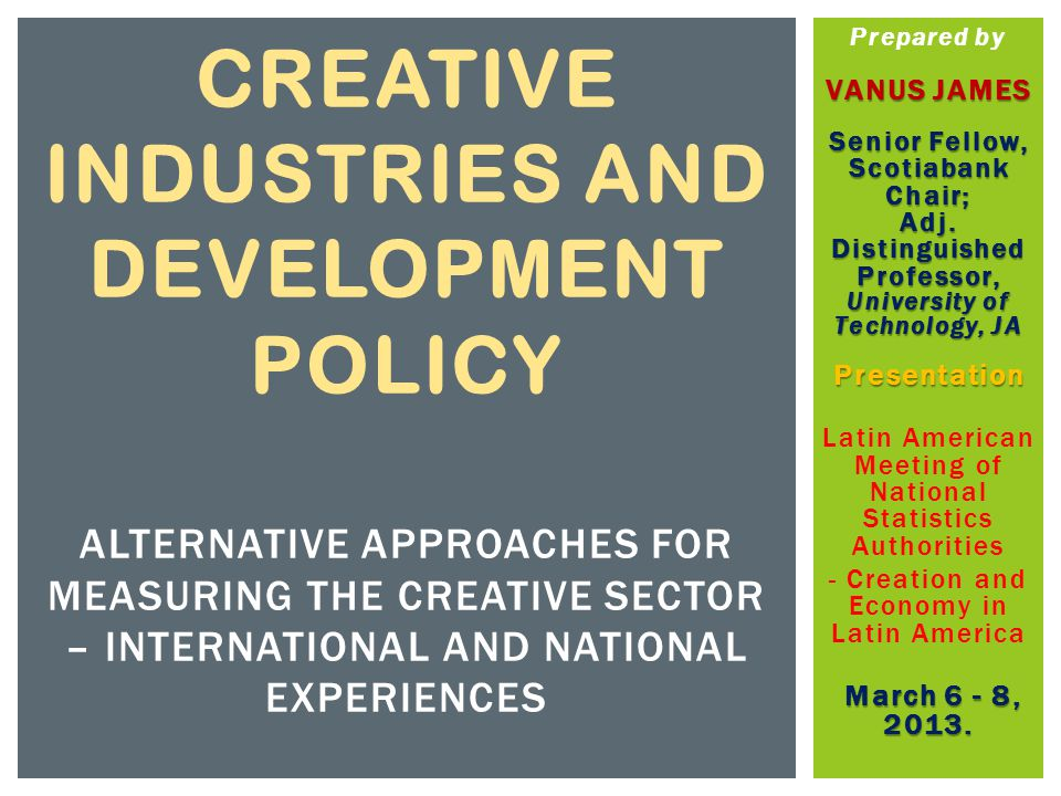  The list of industries in the core is therefore short:  fine arts, such as performing arts, artistic and literary creation, and  visual arts or handicraft works  In particular the Cultural Core includes activities such as:  Visual Arts (painting, sculpture, photography, artistic and literary creation, crafts);  Performing Arts (dance, theatre, circus); and  Heritage (museums and libraries; arts & antiques market) THE CONCENTRIC CIRCLES APPROACH