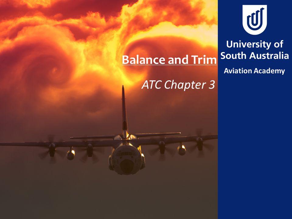 Balance and Trim ATC Chapter 3