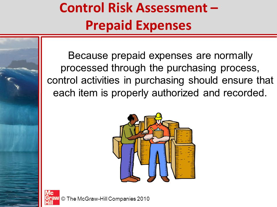 © The McGraw-Hill Companies 2010 Inherent Risk Assessment – Property Management Process Difficult-to-Audit Transactions When assets are purchased directly from a vendor, the transaction is relatively easy to audit.