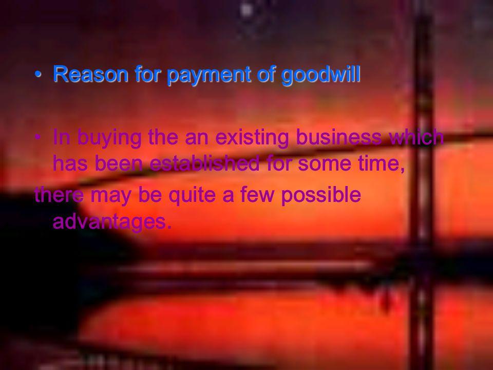 (1) Services of the proprietor.