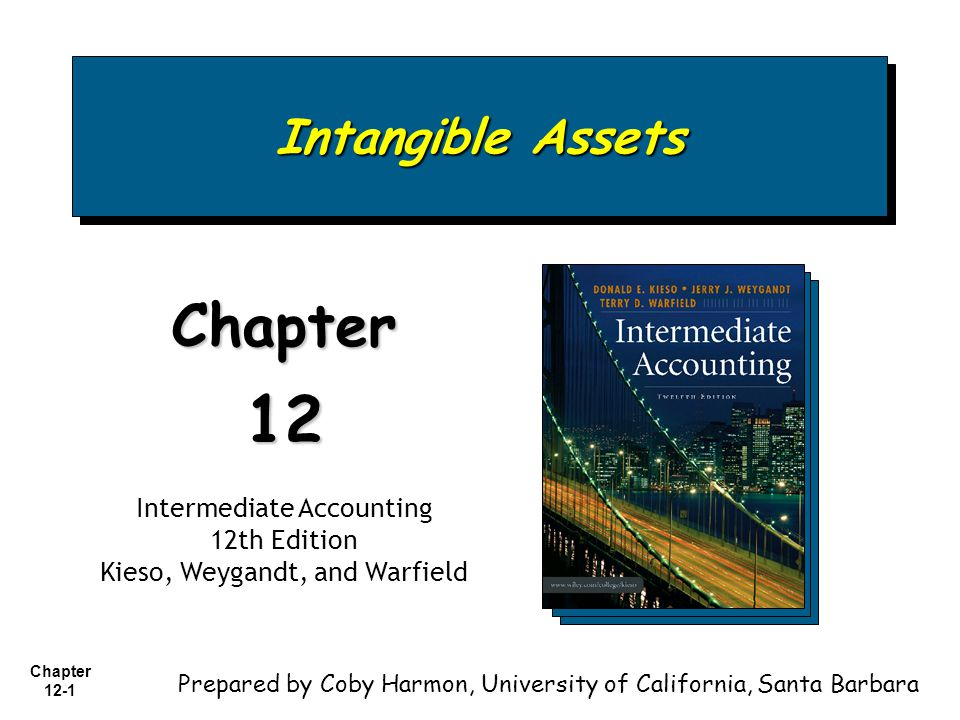 Chapter 12-2 1.Describe the characteristics of intangible assets.