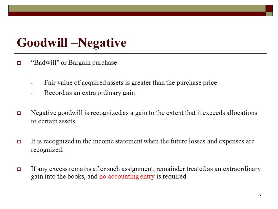 GOODWILL  It is most widely known all persuasive intangible asset that arises on acquisition or generated internally.