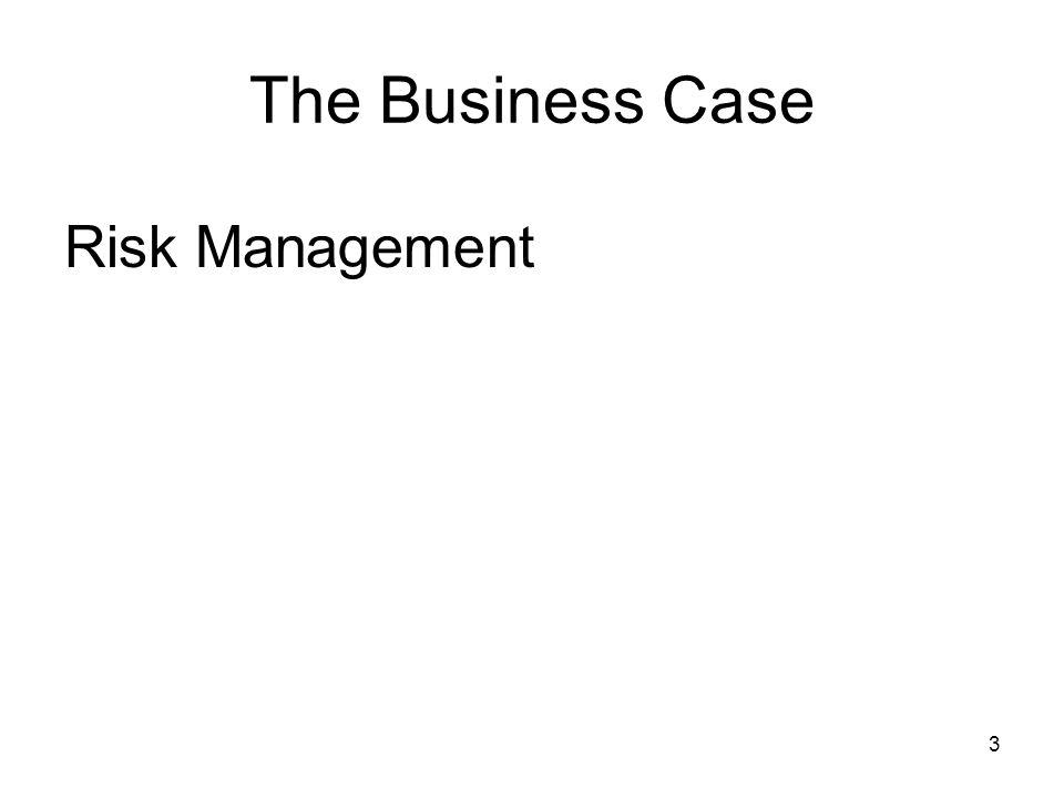 4 The Business Case Risk Management Survival